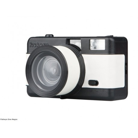 Fisheye comptact Camera Black