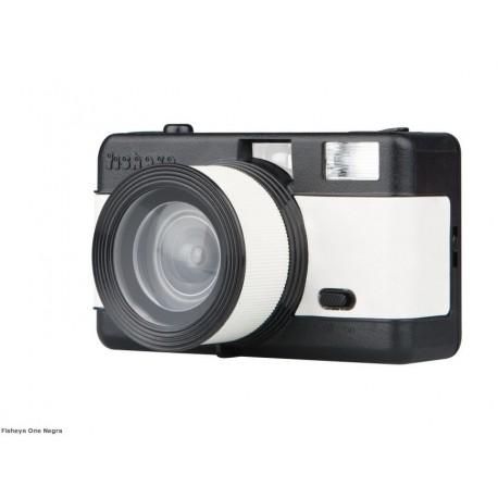 Fisheye comptact Camera Black