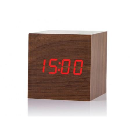 Reloj despertador madera