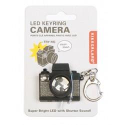 Llavero forma de cámara de hacer fotos