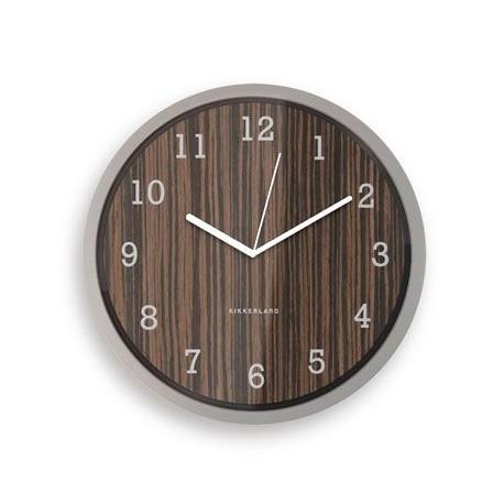 Reloj de madera KIKKERLAND