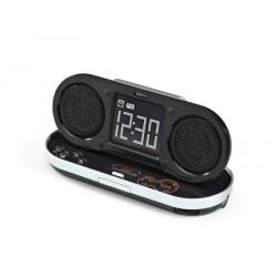 Radio-despertador desplegable